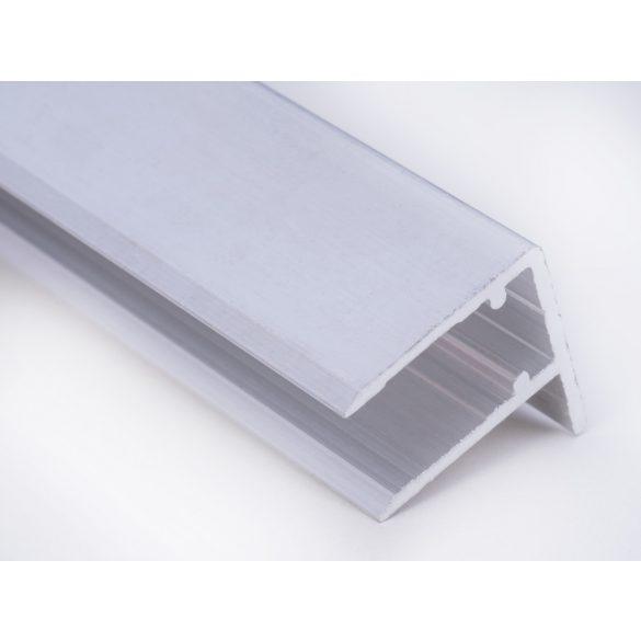 Alu vízorros profil 10mm vastag polikarbonáthoz 211cm-es