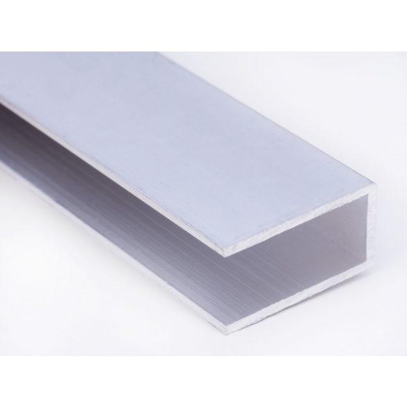 Alu U -profil 10mm polikarbonát lemezhez 320cm-es