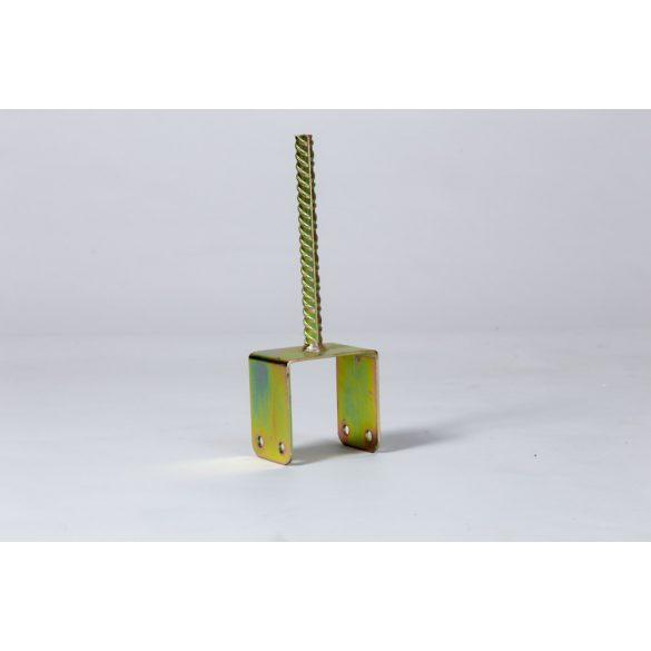 Gerendatalp 10cm-es gerendához, betonozható
